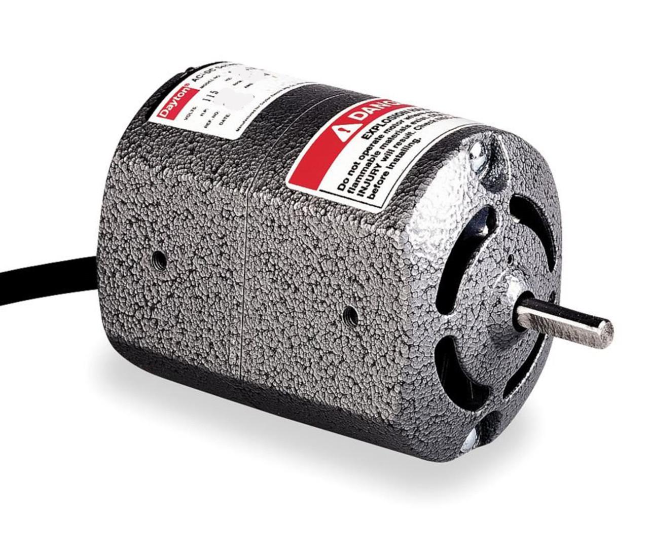 dayton universal ac/dc open motor 1/10 hp 8000 rpm 115v rotation ccw model  2m037  electric motor warehouse