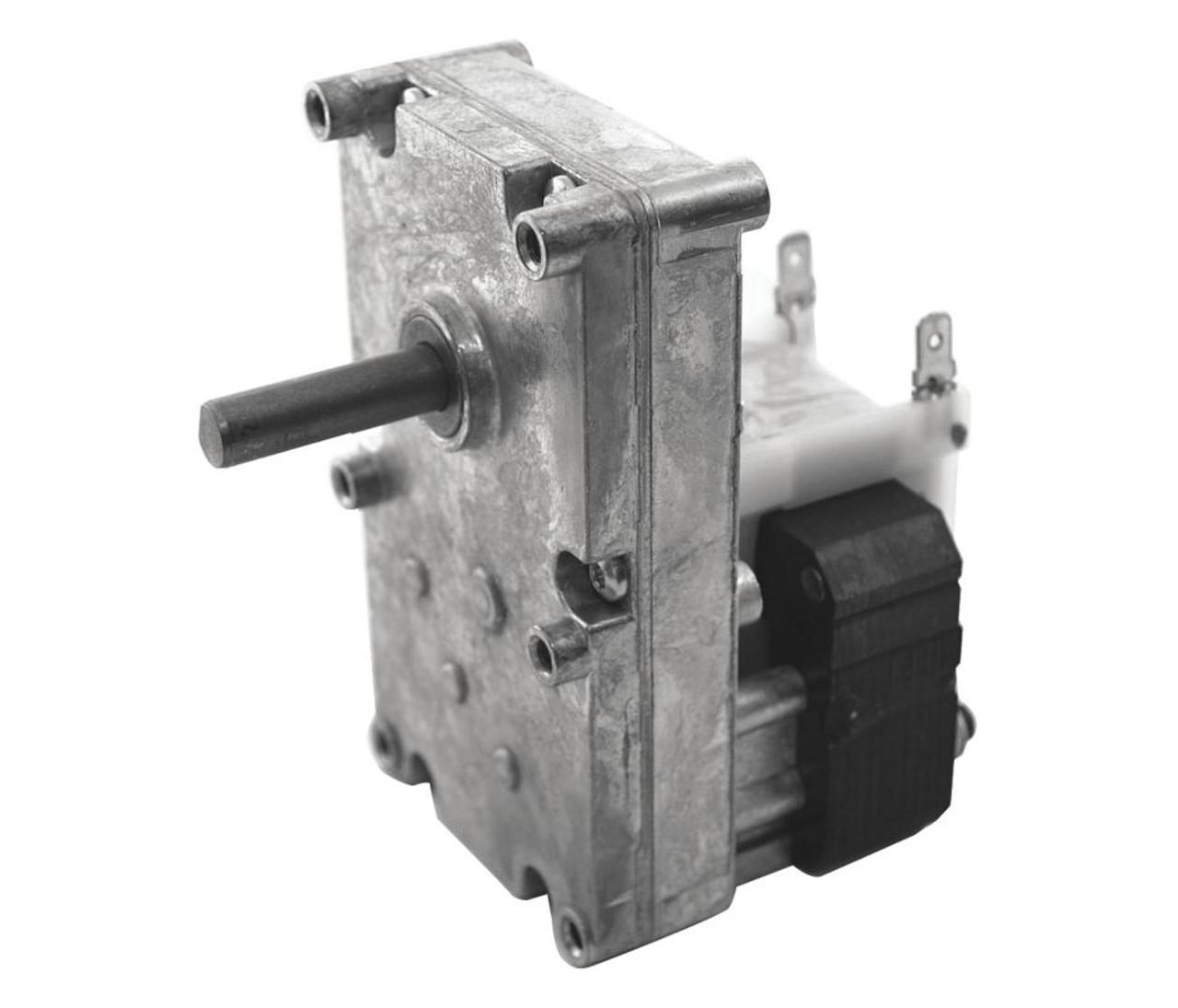 "Dayton Model 52JE09 Gear Motor 3//8/"" Shaft 2 RPM CW 115V pellet stove"