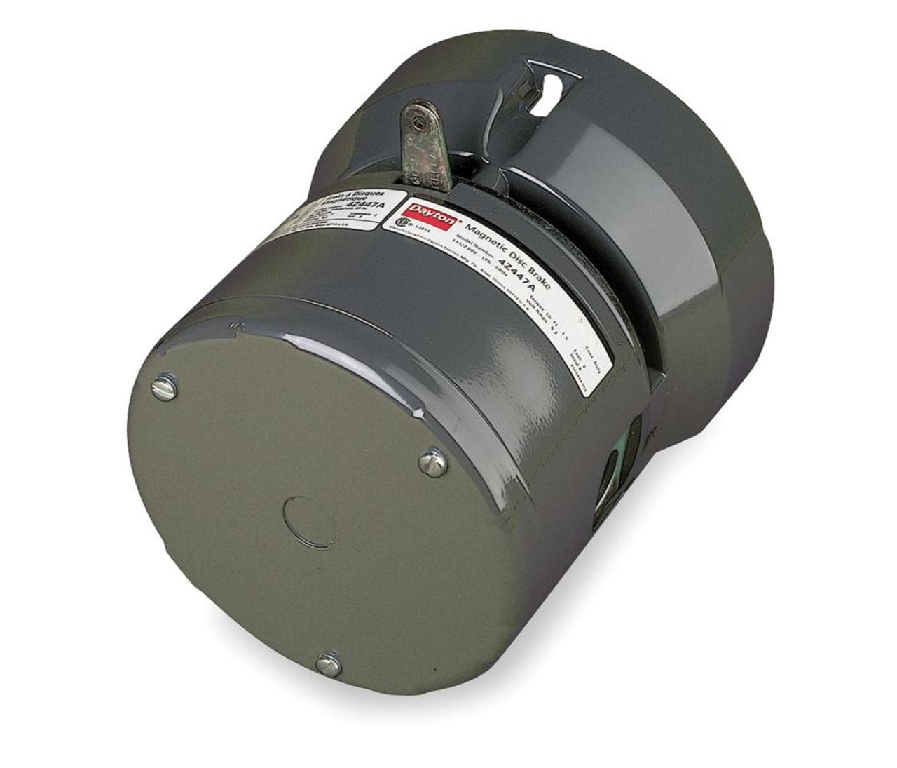 Magnetic Disc Brake For Dayton Gear Motor 115  230v Model 4z447