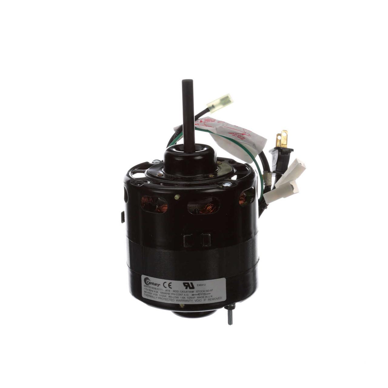 Nordyne (326P113) Furnace Motor 1/8 hp 1050 RPM 115V