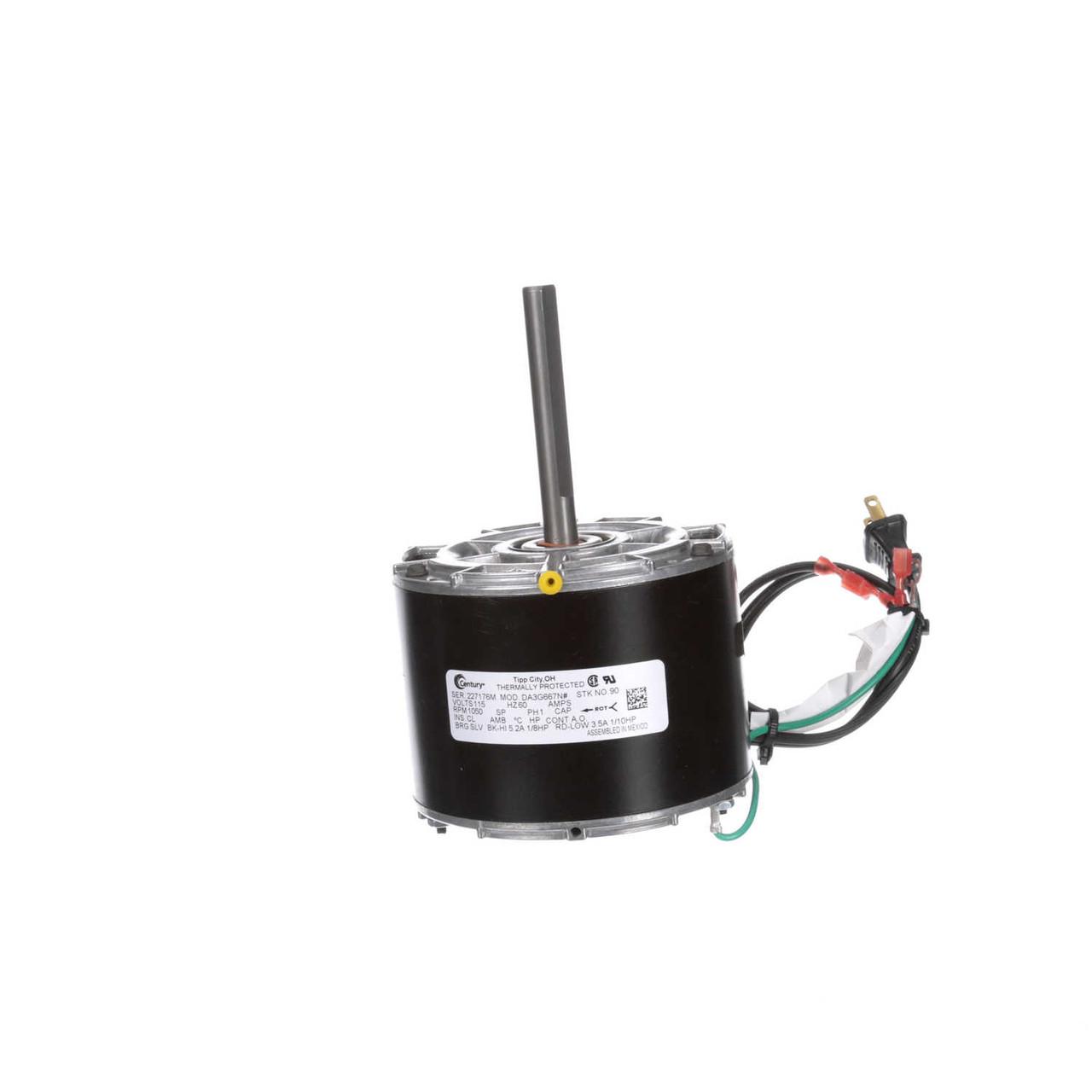 Intertherm Furnace Motor 1/12 hp 1050 RPM 2-Speed 115V