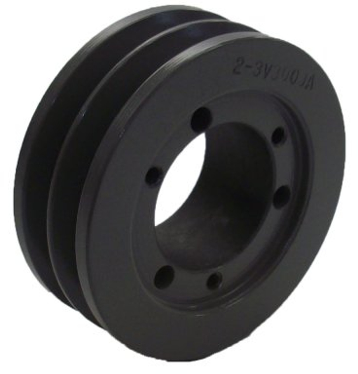 4-3V315-SH Pulley bushing not included 3.15 OD Four Groove Pulley ...