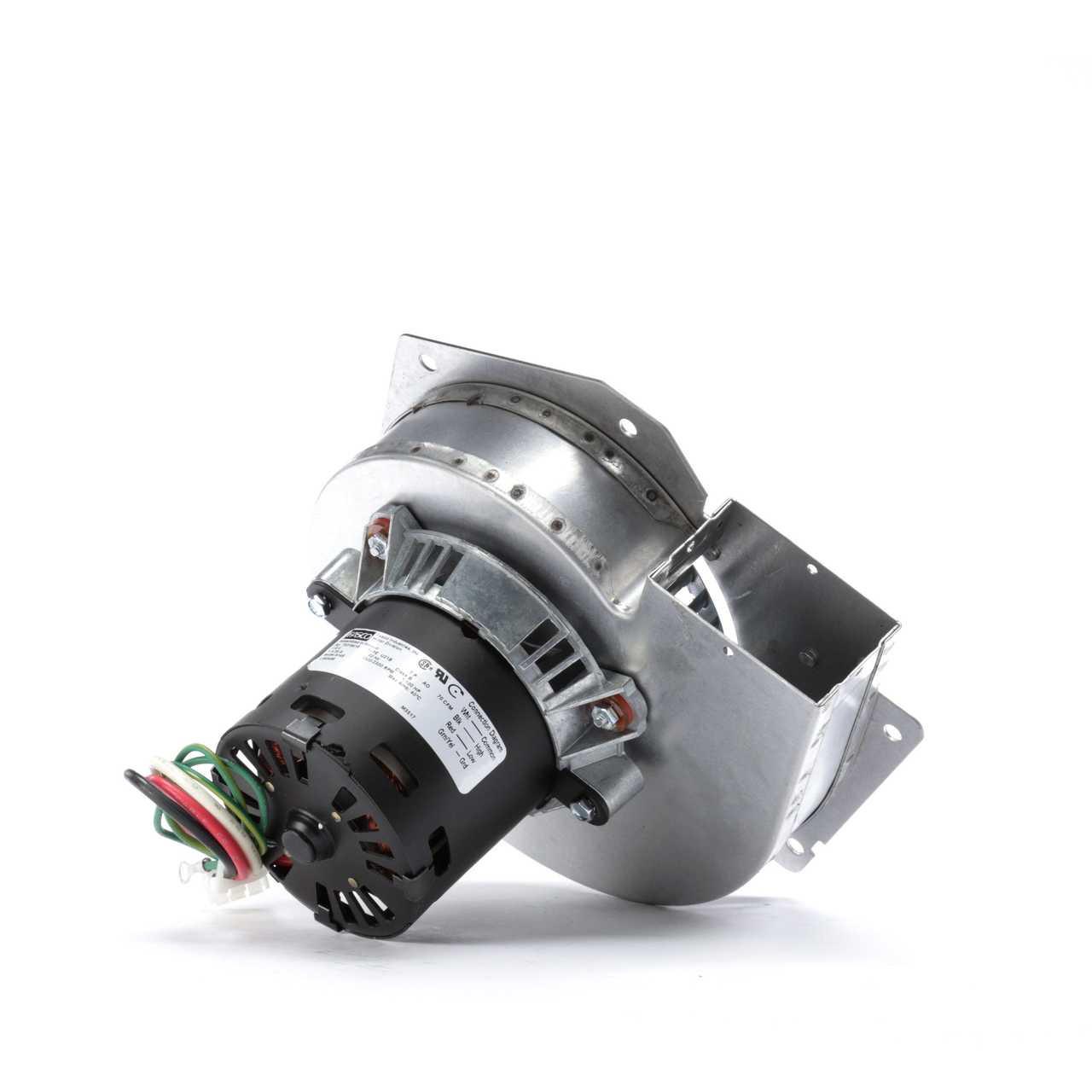 Four Seasons® 35002 - HVAC Blower Motor with Wheel