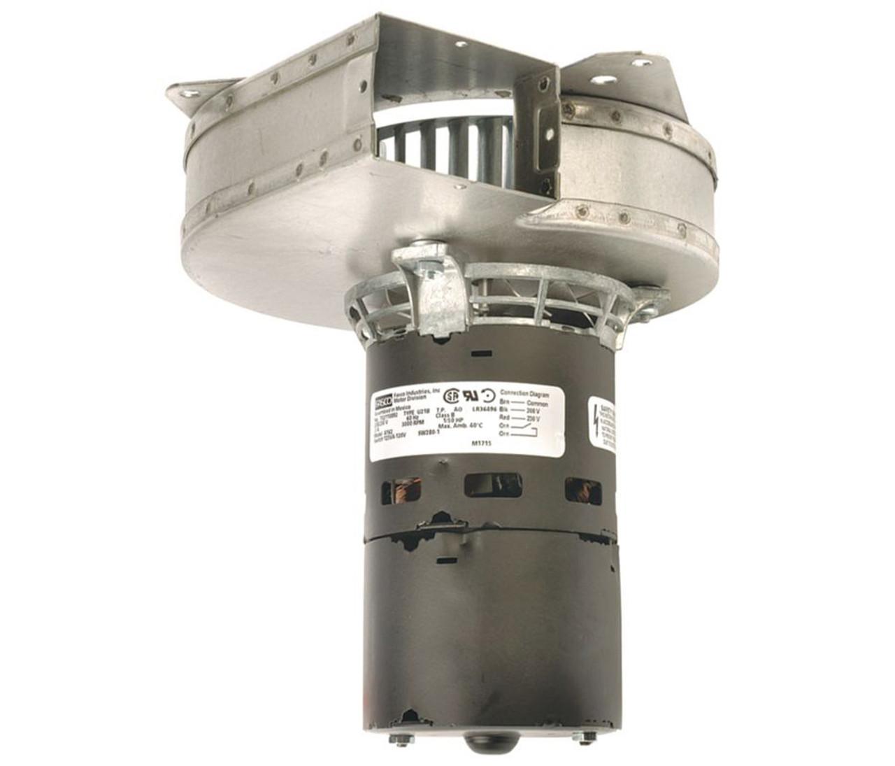 Goodman Furnace Draft Inducer Blower 7021 8656 208 230 Volts Fasco A162