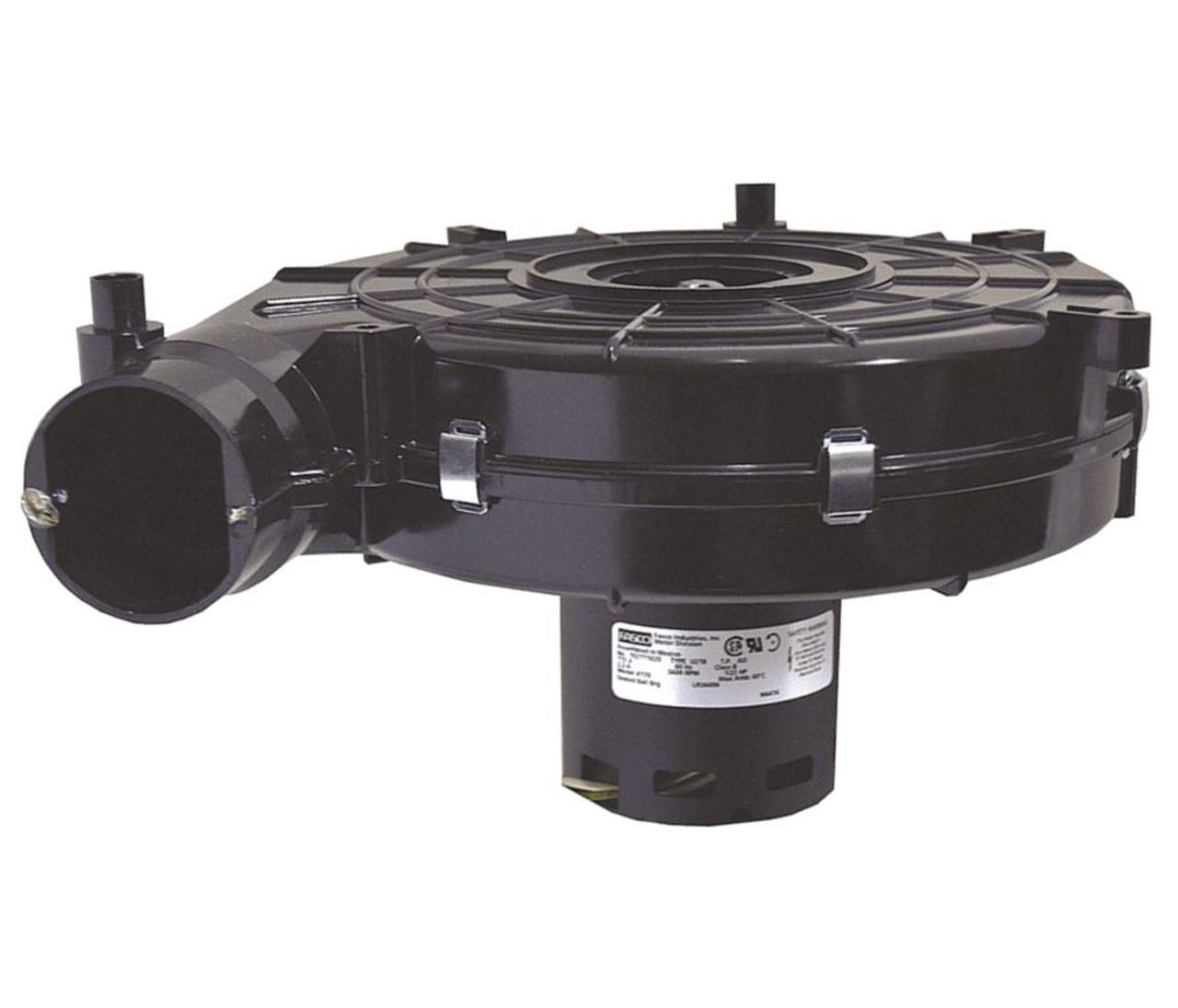5BE66 Dayton 1/2 HP Direct Drive Blower Motor 1140 RPM 115