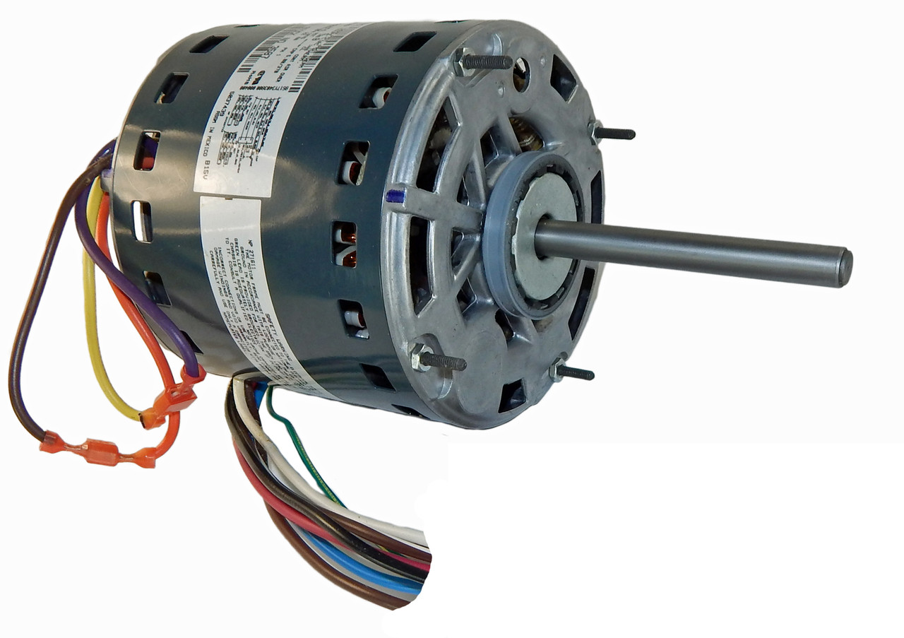 Fabulous 1 2 Hp 1075 Rpm 3 Speed 115V Furnace Motor 5Kcp39Pgn655S Genteq G3587 Wiring Cloud Oideiuggs Outletorg
