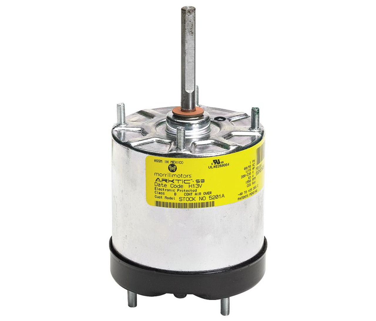 1/15 hp Arktic 59 ECM Refrigeration Motor, CCWLE 1550 RPM, 208-230V Fasco D Wiring Diagram on