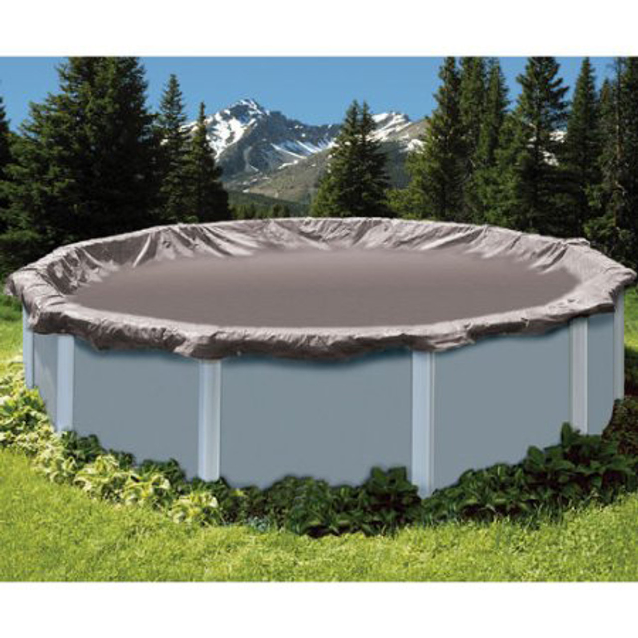 SWIMLINE SUPER DELUXE 12\' Diameter Winter Above Ground Swimming Pool Cover  15 Year Limited Warranty SD12RD