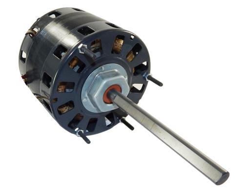 "1/4 hp 1050 RPM CW 5"" 3-Speed 115V Direct Drive Furnace Motor Fasco # D150"