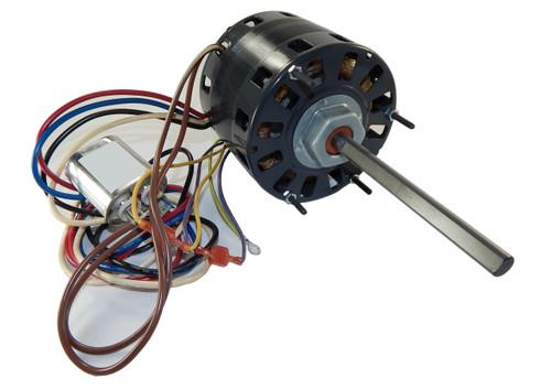 "1/4 hp 1050 RPM CW 5"" 3-Speed 230V Direct Drive Furnace Motor Fasco # D151"