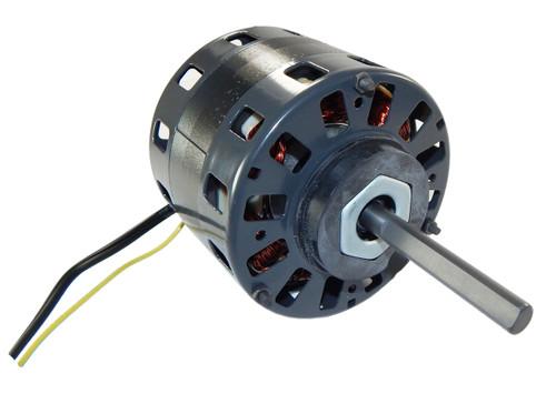 "1/6 hp 1050 RPM CW 5"" Diameter 115V Direct Drive Furnace Motor Fasco # D156"