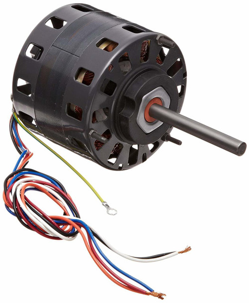 "Fasco D164 Motor | 1/6 hp 1050 RPM 4-Speed CW 5"" Diameter 115 Volts"
