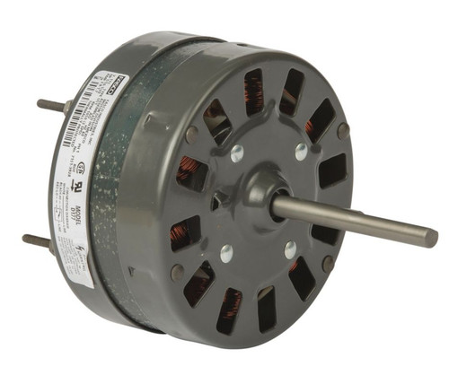"Fasco D177 Motor | 1/10 hp 1050 RPM 2-Speed CCW 5"" Diameter 115V Fasco (McMillan 6125-366/6 )"