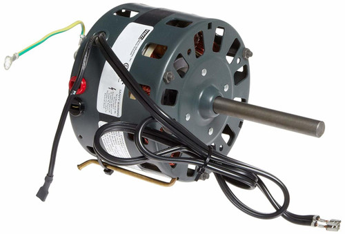"Fasco D180 Motor | 1/8 hp 1050 RPM 2-Speed CW 5"" Diameter 115 Volts"