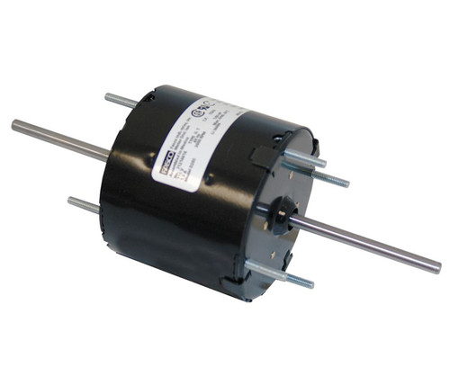 "Fasco D205 Motor | 1/40 - 1/70 hp 3000 RPM 2-Speed  3.3"" Diameter 115 Volts"