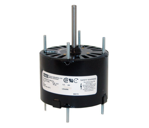 "Fasco D206 Motor | 1/30 hp 3000 RPM CW 3.3"" Diameter 115 Volts"