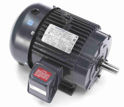 GT1012A Marathon 5 hp 3600 RPM 184T Frame 230/460V TEFC Marathon Electric Motor