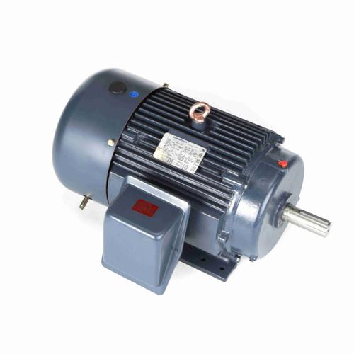 10 hp 1170 RPM 256T Frame 230/460V TEFC Marathon Electric Motor # GT1020A