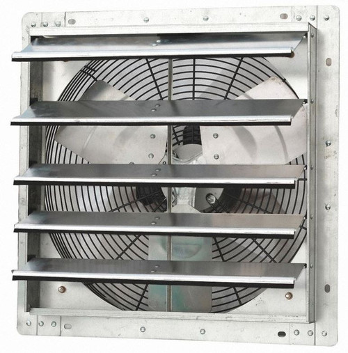 Dayton 18 inch 1/15HP Shutter Exhaust Fan 115V # 1HLA4