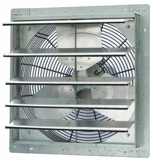 Dayton 18 inch 1/4HP Shutter Exhaust Fan 115V # 1HLA5