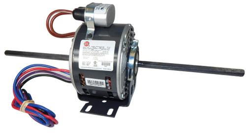 "1240 Nidec | 1/6 hp 1075 RPM 3-Speed 5 5/8"" 115V Direct Drive Furnace Motor"