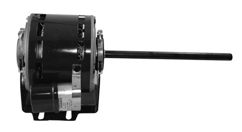 "1676 Nidec | 1/20 hp 1100 RPM 3-Speed 115V; 5"" Blower Motor"