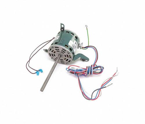 "1/5 hp 925 RPM 3-Speed 208-240V; 5"" Blower Motor  Nidec # 4129"