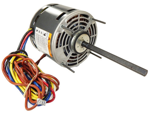 "5830 Nidec | 1/4 hp 1075 RPM 4-Speed 115V; 5.6"" Blower Motor"