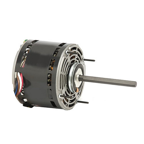 "5831 Nidec | 1/4 hp 1075 RPM 4-Speed 208-230V; 5.6"" Blower Motor"