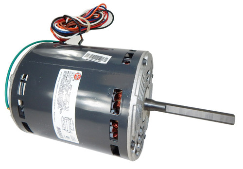 "1125 Nidec | 3/4 hp 900 RPM 4-Speed 115V; 5.6"" Blower Motor"
