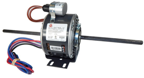 "1210 Nidec | 3/16 hp 1350 RPM 3-Speed 115-127V; 5"" Blower Motor"