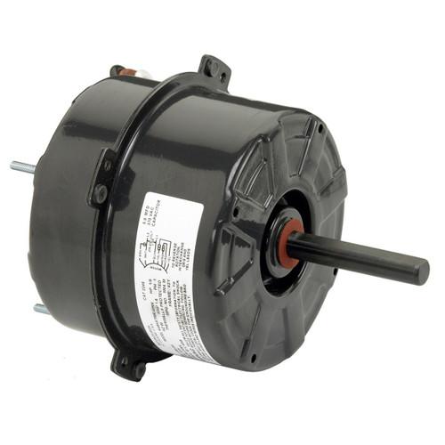 """1/6 hp 1075 RPM 1-Speed 208-230V; 5"""" Condenser Motor  Nidec # 1901"""
