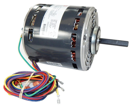 "LX7930 Nidec | 3/4 hp 1075 RPM 3-Speed 460V; 5.6"" Blower Motor"