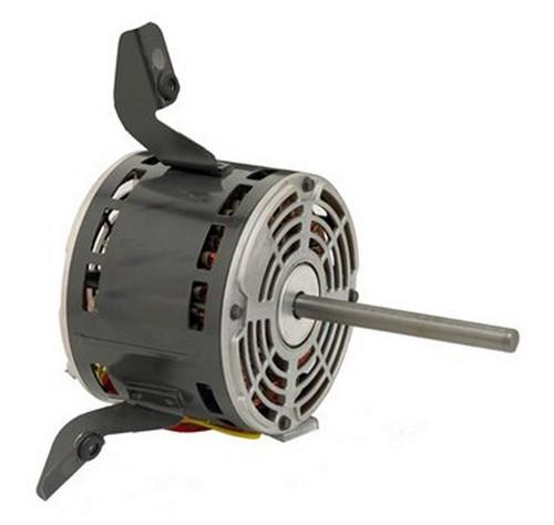 "2867P Nidec | 1/5 hp 1050 RPM 1-Speed 115V; 5"" Blower Motor"