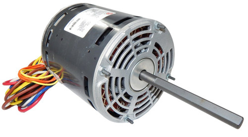 "5463 Nidec | 3/4 hp 1075 RPM 4-Speed 115V; 5.6"" Blower Motor"