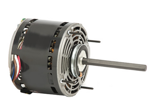 "3340 Nidec | 3/4 hp 1075 RPM 4-Speed 115V; 5.6"" Blower Motor"