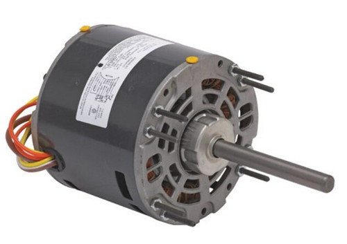"1391 Nidec | 1/4 hp 1050 RPM 3-Speed 208-230V; 5.0"" Blower Motor"
