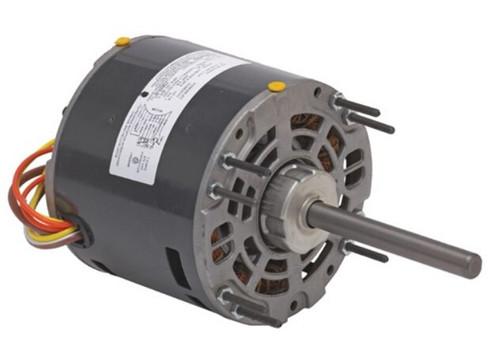 "1/4 hp 1050 RPM 3-Speed 208-230V; 5.0"" Blower Motor  Nidec # 1391"