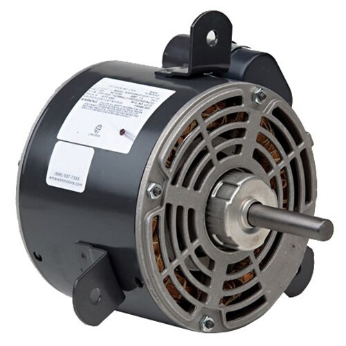 "1265 Nidec | 1/6 hp 1550 RPM 1-Speed 460V; 5.6"" Condenser Motor"