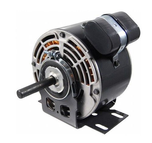 "7232 Nidec | 1/3 hp 1625 RPM 1-Speed 208-230V; 5.6"" Blower Motor"
