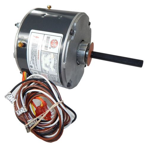 "5451 Nidec | 1/2 hp 1075 RPM 3-Speed 115V; 5.6"" Blower Motor"