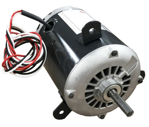 "1/3 hp 1400 RPM 1-Speed 460V; 5.6"" Condenser Motor Nidec # 2387"