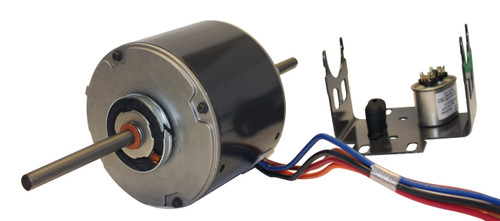 "5108 Nidec | 1/3 hp 1100 RPM 3-Speed 230V; 5.6"" Blower Motor"