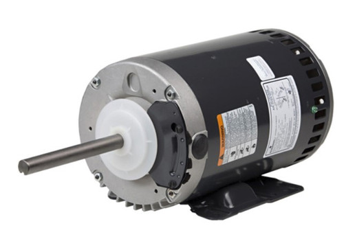 "1100 Nidec | 1.5 hp 830 RPM 1-Speed 208-230/460V; 6.5"" Condenser Motor"