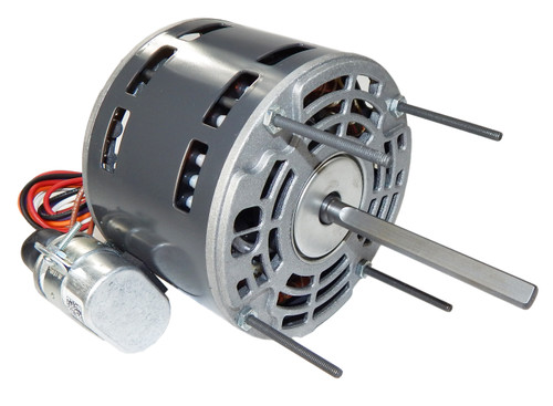 "1470P Nidec | 1/10 hp 1550 RPM 1-Speed 115/208-230V; 5.0"" Blower Motor"