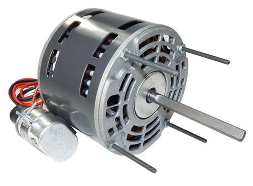 "1/10 hp 1550 RPM 1-Speed 115/208-230V; 5.0"" Blower Motor  Nidec # 1470P"