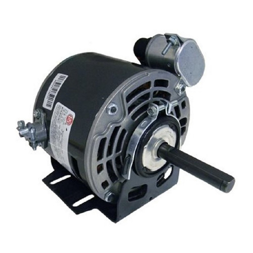 "721P Nidec | 1/10 hp 1550 RPM 1-Speed 115/230V; 5.0"" Blower Motor"