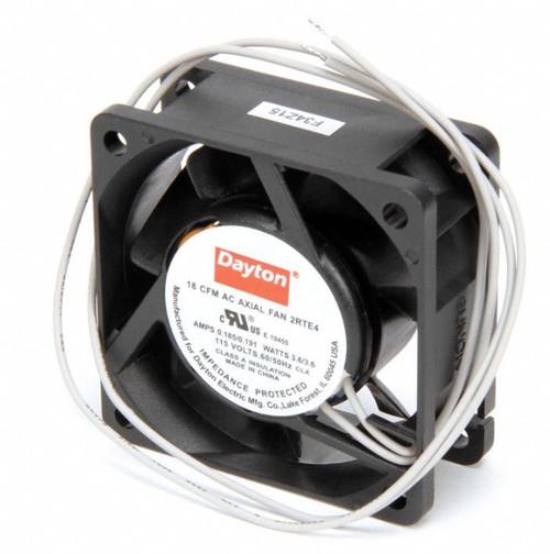 2RTE4 Dayton Axial Fan 115V AC; 3 Watts; 18 CFM;