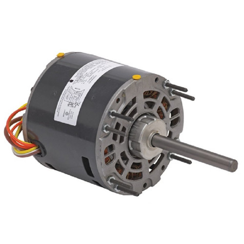 "1341 Nidec | 1/4 hp 1050 RPM 1-Speed 115V; 5.0"" Blower Motor"