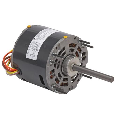 "1268 Nidec | 1/5 hp 1075 RPM 4-Speed 115V; 5.0"" Blower Motor"